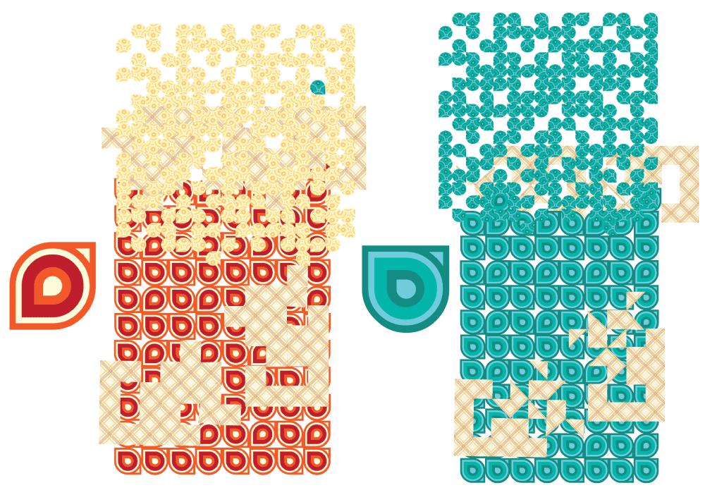 Montagem dos padrões