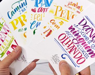 Desenhando Letras – Oficina de Lettering
