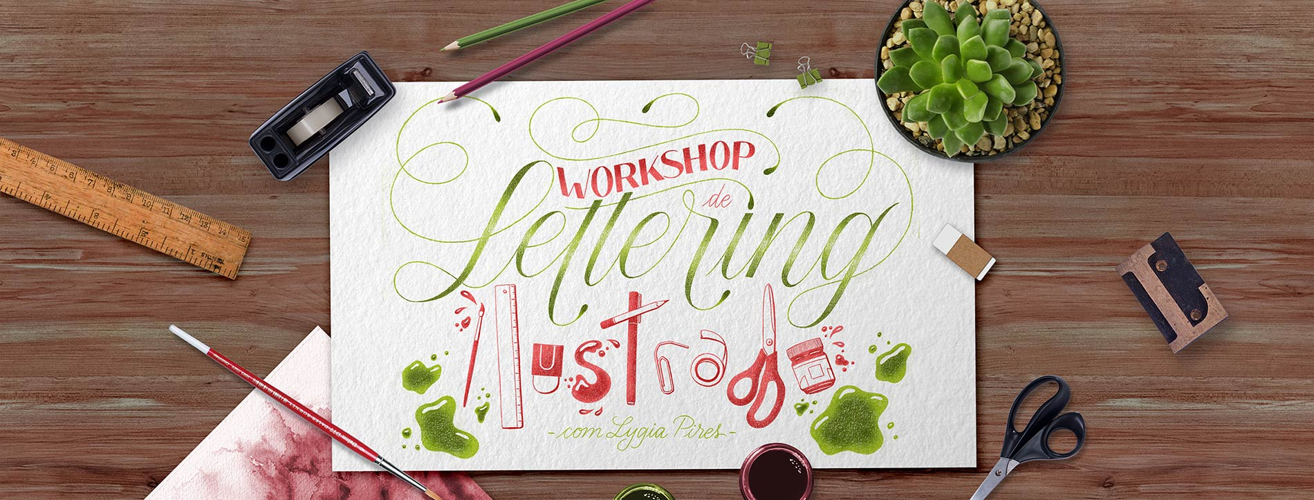 Workshop Lettering Ilustrado
