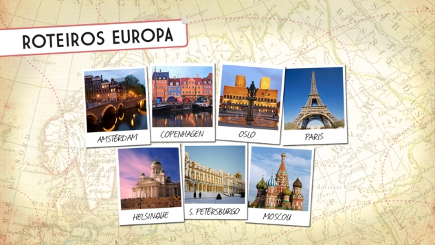 Multimídia Roteiros Europa