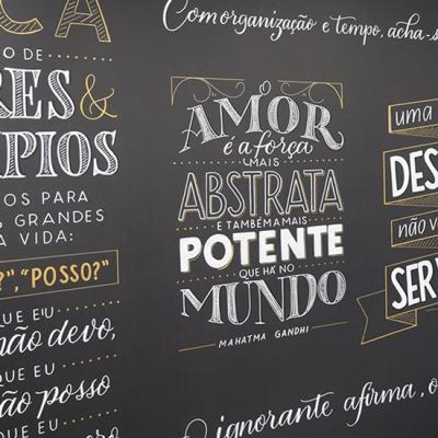 Workshop Lettering em Lousas e Paredes com Juliana Moore – Pictorama