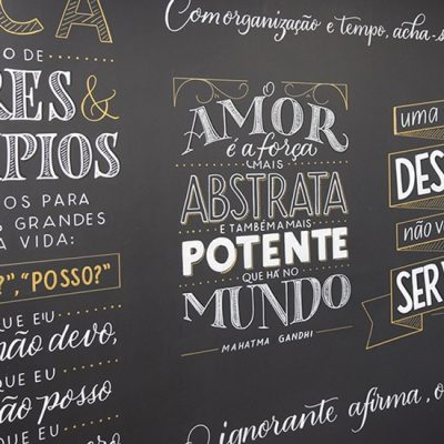 Workshop Lettering em Lousas e Paredes com Juliana Moore – Pictorama